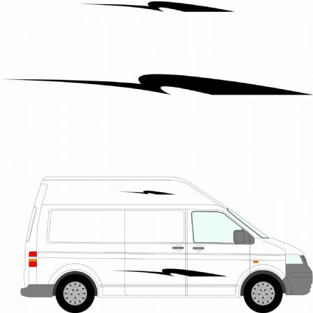 (No.212) MOTORHOME GRAPHICS STICKERS DECALS CAMPER VAN CARAVAN UNIVERSAL FITTING